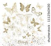 vector illustration. various... | Shutterstock .eps vector #1112563430
