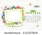 Vector Calendar 2013  April....