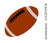 vector american football ball... | Shutterstock .eps vector #1112579576