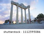 apollon temple  side  antalya... | Shutterstock . vector #1112595086