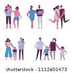 vector illustration in flat... | Shutterstock .eps vector #1112601473