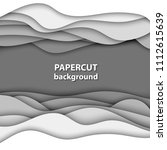 vector background with white... | Shutterstock .eps vector #1112615639