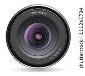 camera lens | Shutterstock . vector #111261734