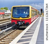 berlin  federal republic of... | Shutterstock . vector #1112617364