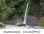 pacuare river rafting | Shutterstock . vector #1112629913