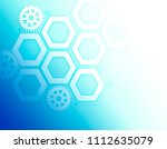 abstract background with... | Shutterstock . vector #1112635079