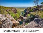jim jim falls  kakadu national... | Shutterstock . vector #1112681894