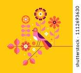 vector illustration in simple... | Shutterstock .eps vector #1112693630