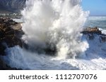 Huge Waves Crashing Into...