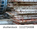 rust and corrosion in the weld... | Shutterstock . vector #1112724308