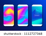 screens vibrant gradient set...