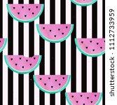 seamless watercolor pattern... | Shutterstock . vector #1112733959