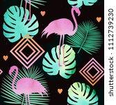 seamless watercolor pattern... | Shutterstock . vector #1112739230