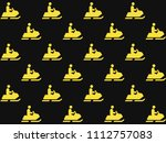 endless repeating amber gold...   Shutterstock . vector #1112757083
