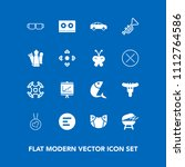 modern  simple vector icon set... | Shutterstock .eps vector #1112764586