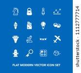 modern  simple vector icon set... | Shutterstock .eps vector #1112777714