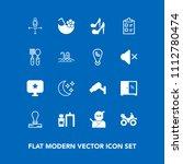 modern  simple vector icon set... | Shutterstock .eps vector #1112780474