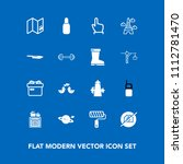 modern  simple vector icon set... | Shutterstock .eps vector #1112781470