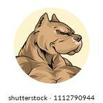 vector illustration of a pit... | Shutterstock .eps vector #1112790944
