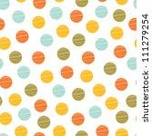 Seamless Pattern  Polka Dot...