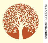 Abstract Vector Tree Background ...