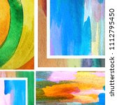 colorful abstract backgrounds.... | Shutterstock . vector #1112795450