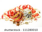 christmas ornaments | Shutterstock . vector #111280010