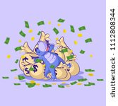 vector stock illustration... | Shutterstock .eps vector #1112808344