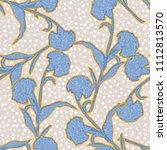 trendy pastel  silhouette... | Shutterstock .eps vector #1112813570