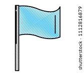doodle festival flag decoration ...   Shutterstock .eps vector #1112816879