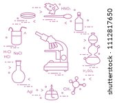 chemistry scientific  education ... | Shutterstock .eps vector #1112817650