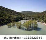 aerial drone view on abrau... | Shutterstock . vector #1112822963