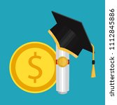 investment in education concept....   Shutterstock .eps vector #1112845886