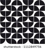 vector seamless pattern. modern ... | Shutterstock .eps vector #1112849756