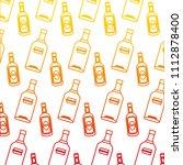 degraded line vodka and... | Shutterstock .eps vector #1112878400