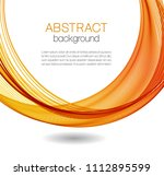 abstract background with color... | Shutterstock .eps vector #1112895599