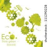 illustration environmentally... | Shutterstock . vector #111290228