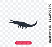 crocodile vector icon isolated... | Shutterstock .eps vector #1112903390