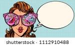 girl sees women shoes....   Shutterstock .eps vector #1112910488