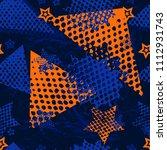 abstract seamless sport pattern ... | Shutterstock . vector #1112931743