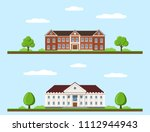 picture of college and... | Shutterstock .eps vector #1112944943