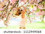 lady with charming smile posing ... | Shutterstock . vector #1112949068