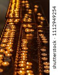 candles in churches | Shutterstock . vector #1112949254