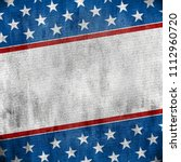 usa background grunge style | Shutterstock . vector #1112960720
