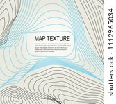 topographical vector background ... | Shutterstock .eps vector #1112965034