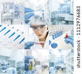 research facility or laboratory ... | Shutterstock . vector #1112976683
