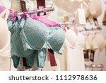 vareity of bra hanging in...   Shutterstock . vector #1112978636