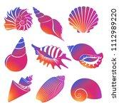 vector fresh modern gradient... | Shutterstock .eps vector #1112989220