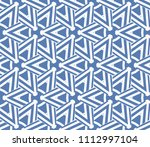 seamless pattern with symmetric ... | Shutterstock .eps vector #1112997104