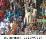 beads hanging for decoration | Shutterstock . vector #1112997119